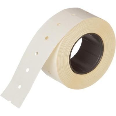 Этикет-лента 21,5 х 12 мм прямая белая