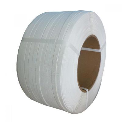 Лента П.П. 15*0,8мм*1400м (260 кг/с) белая