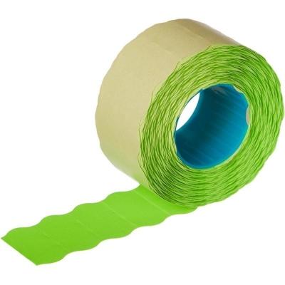 этикет-лента 26*12(800) зеленая волна