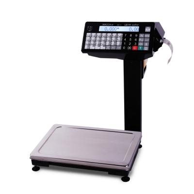 Весы с печатью этикеток ВПМ_Ф